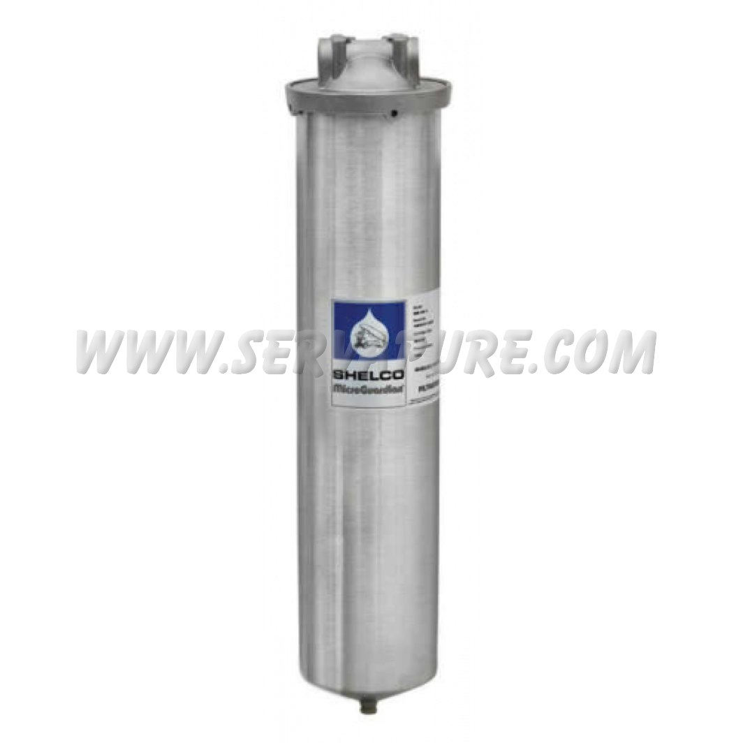 Shelco Fld 80 20 Quot Stainless Steel Big Blue Filter Housing