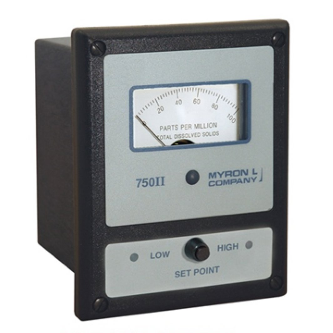 Water Resistivity Meter : Myron l ii analog resistivity monitor and controller