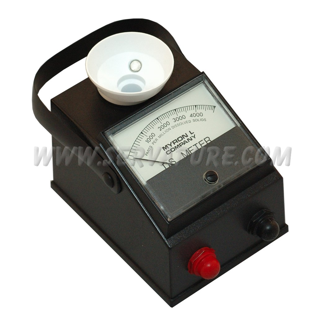 Parts Of Conductivity Meter : Myron l t ppm serv a pure