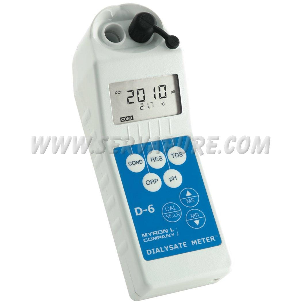 Dialysate Conductivity Meters : Myron l d dialysate meter serv a pure