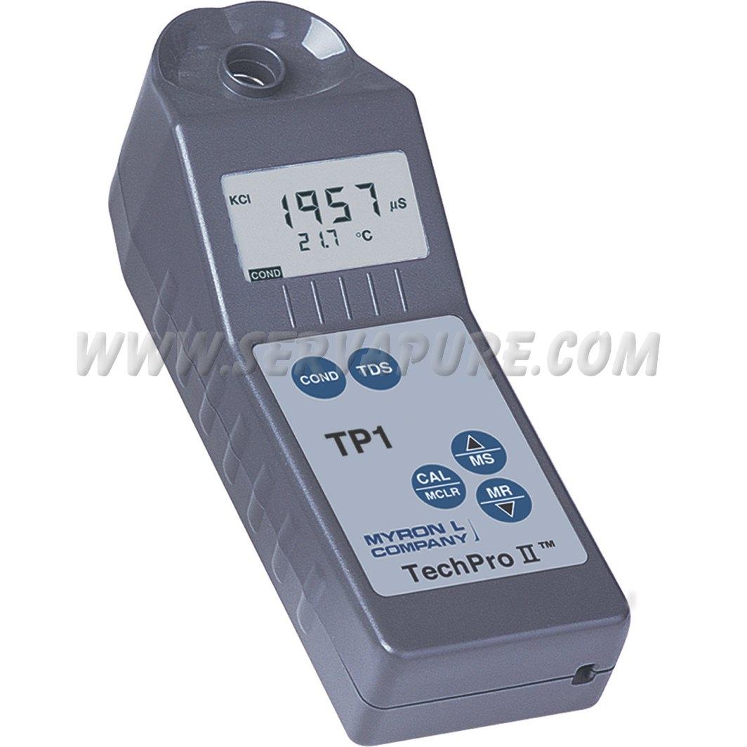 Myron L Conductivity Meter : Myron l tp conductivity tds temperature techpro ii