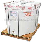 Serv-A-Pure EZ-BULK-220, 220 Gallon Tote of Deionized Water, CONTACT US FOR CUSTOM SHIPPING QUOTE