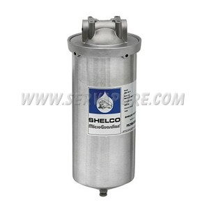 "Shelco FLD-78, 10"" Stainless Steel Big Blue Filter Housing"