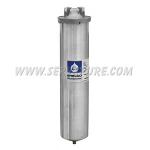 "Shelco FLD-80, 20"" Stainless Steel Big Blue Filter Housing"
