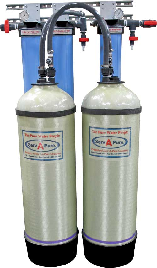 Serv A Pure 1447 2 3bb Deionized Water System Serv A Pure