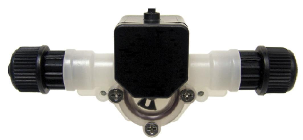 Blue-White FV1-100-5V, 1 to 10 OZ/MIN Micro-Flo Paddlewheel Flowmeter    Serv-A-Pure