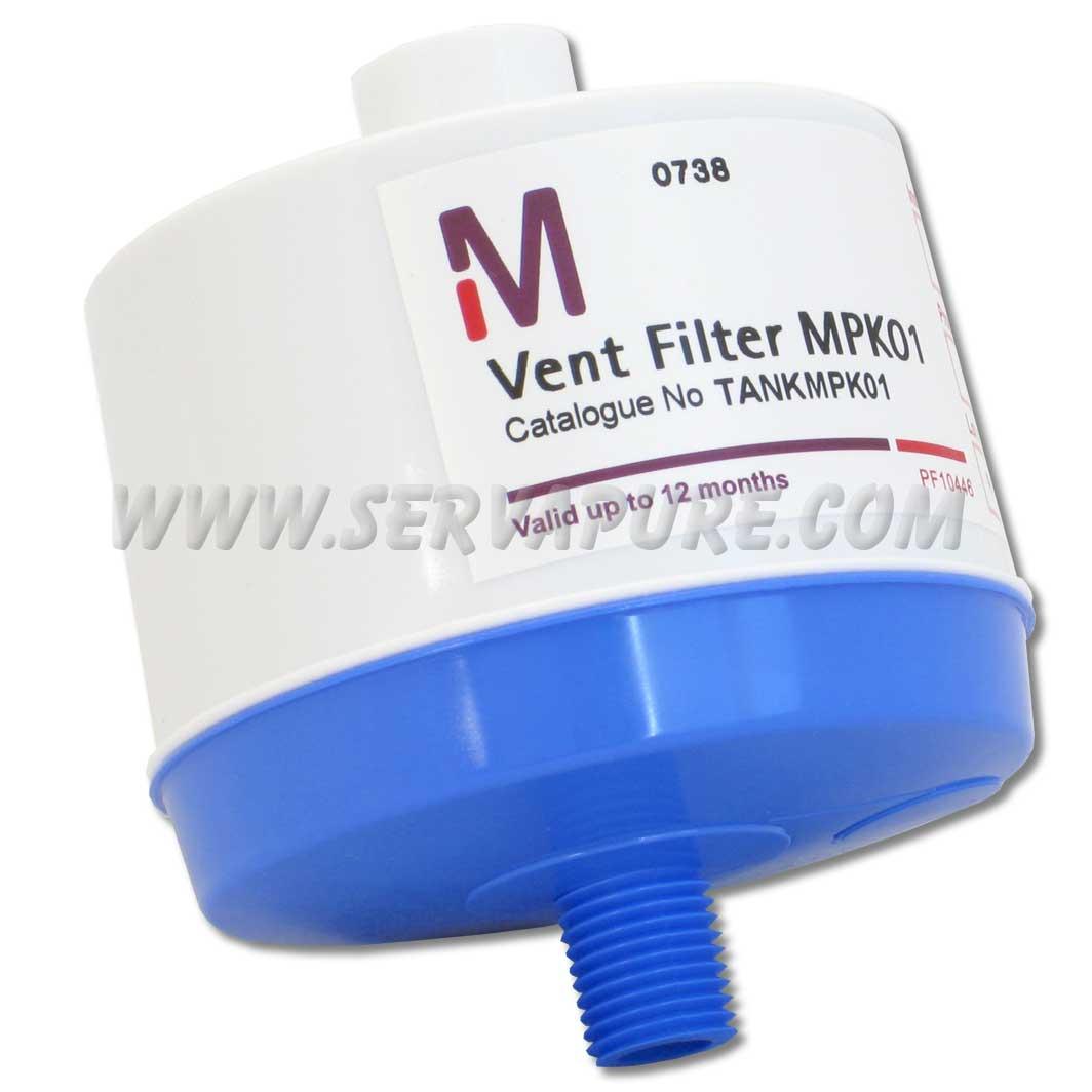 Emd Millipore Tankmpk01 Vent Filter For Pe Tank Type 2