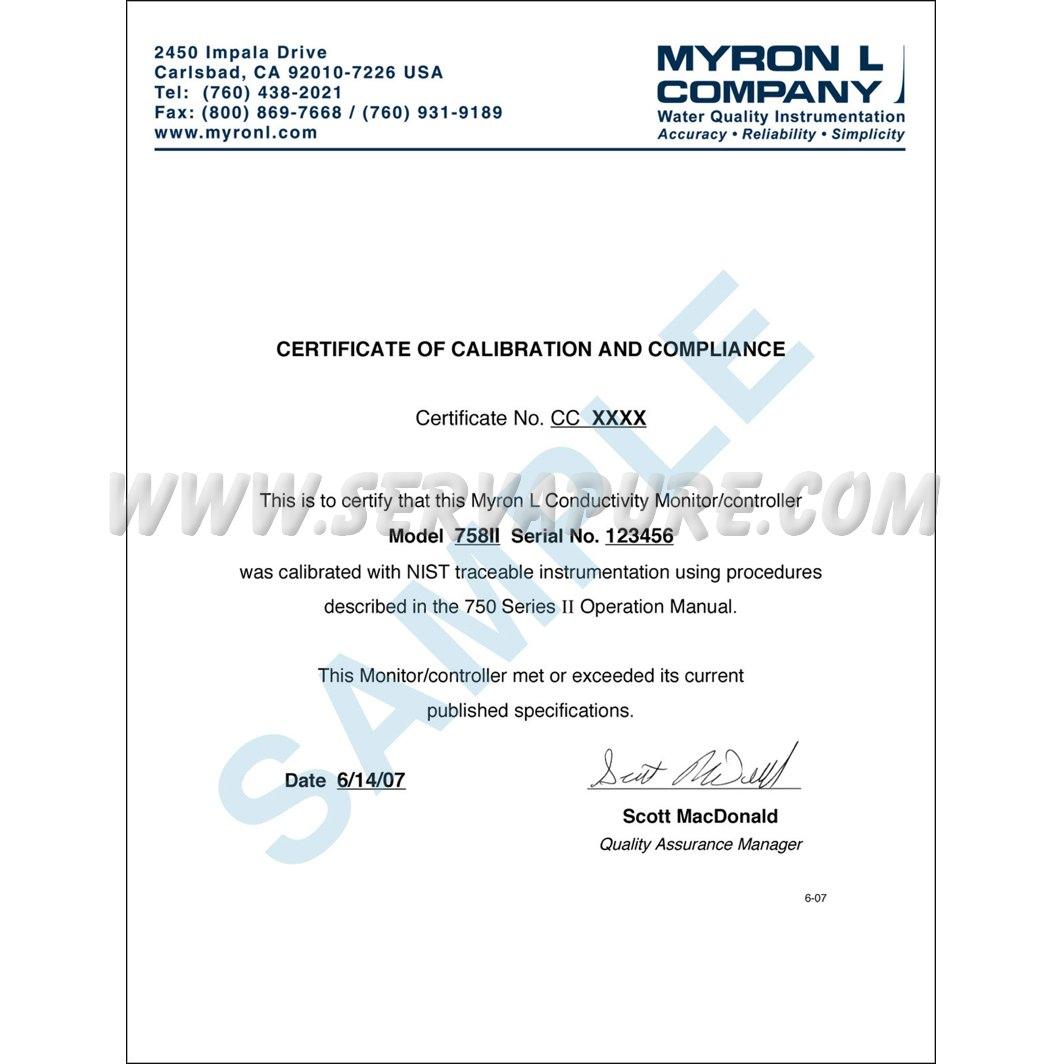 Myron L 512t10 0 10000 Ppm Serv A Pure