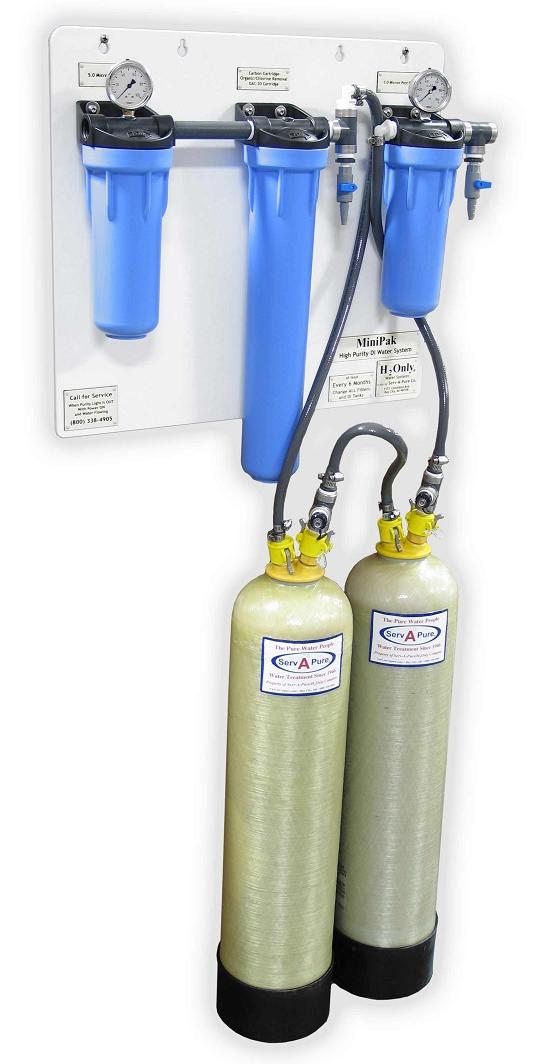 Serv A Pure Minipak 0844 Deionized Water System Serv A Pure