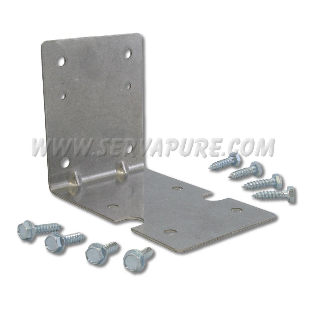 pentek 150061 wb zp kit zinc plated mounting bracket kit for big