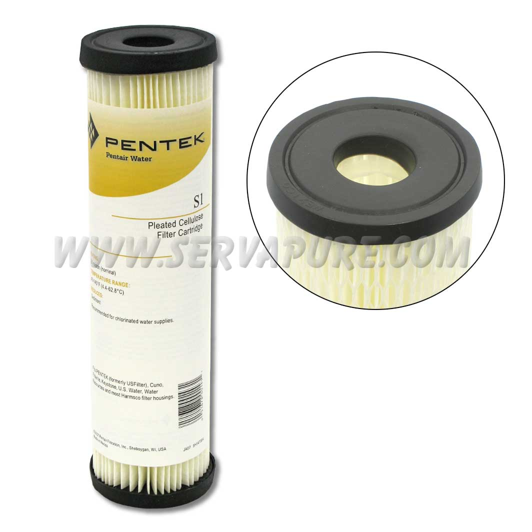 Pentek 155001, S1 Pleated Polyester Filter