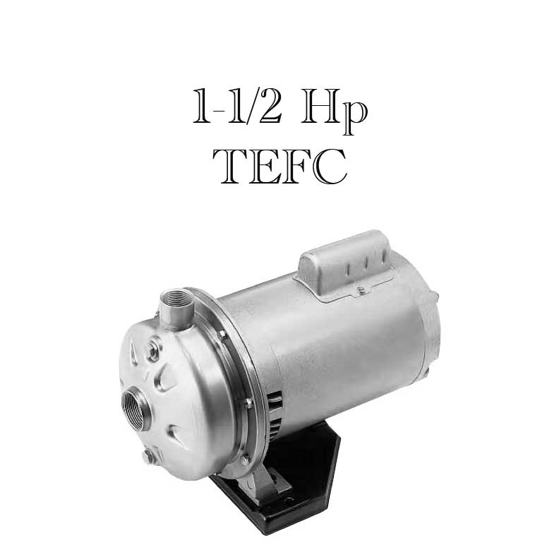 Webtrol TC120315T Threaded Connection Centrifugal Pump