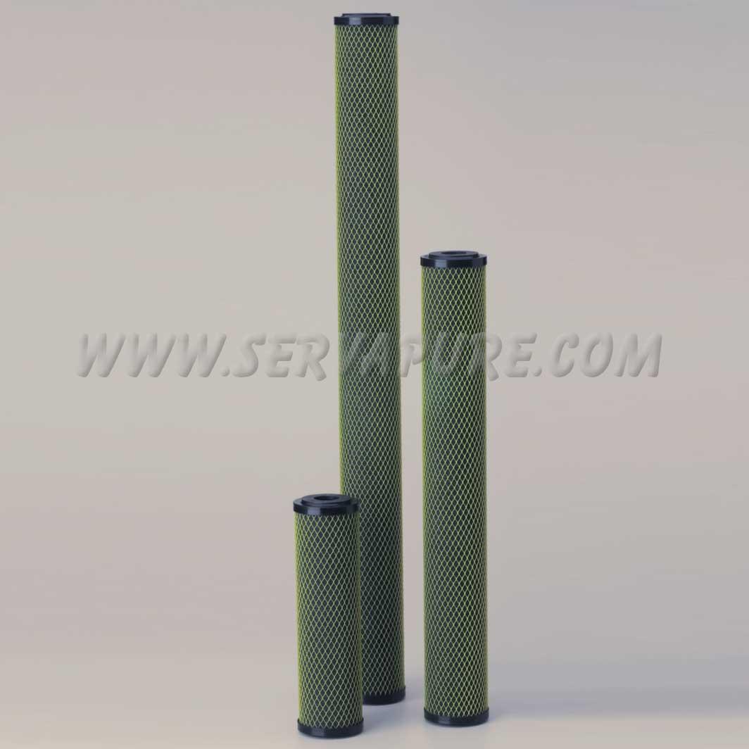 Pentek 255669-43, ELPC-20 Electroplating Cartridge, 2 88