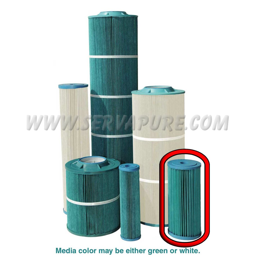 Harmsco HB-10-50W-AM, 50 Micron SureSafe™ Antimicrobial Calypso Blue™ Series Filter Cartridge