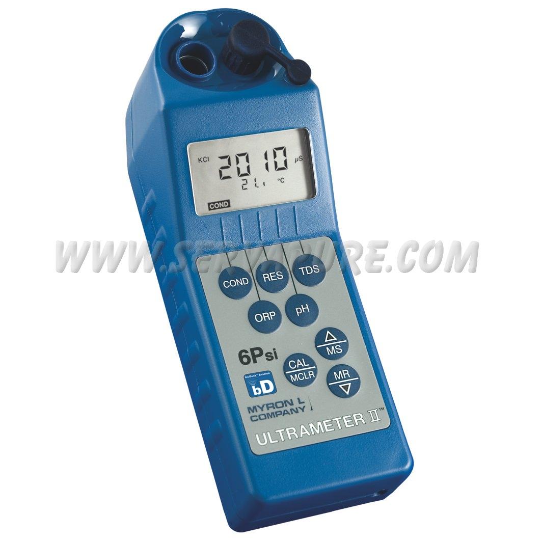 Deionized Water Resistivity Meter : Myron l piifce bd ultrameter ii conductivity