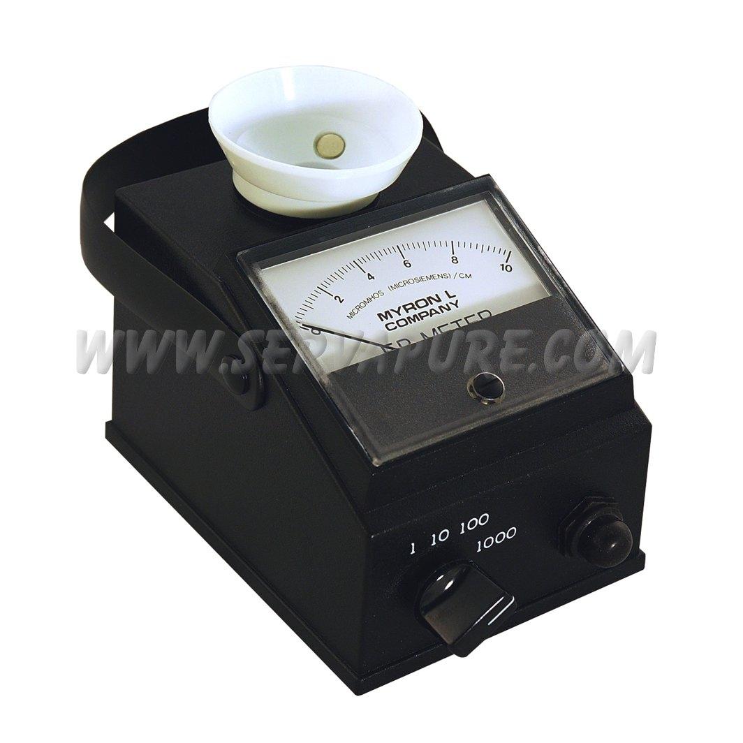 0-10000 micromhos//microsiemens Myron L 512M10 DS Conductivity Meter