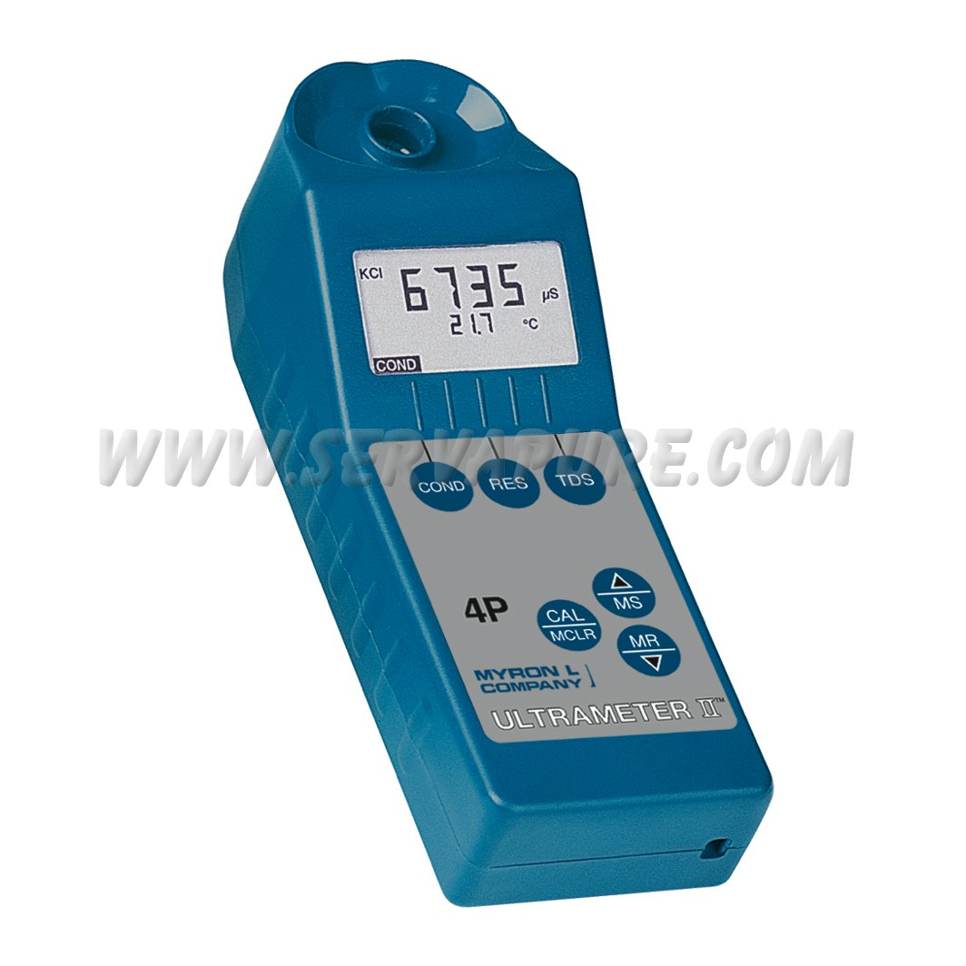 Parts Of Conductivity Meter : Myron l pii ultrameter ii conductivity resistivity tds