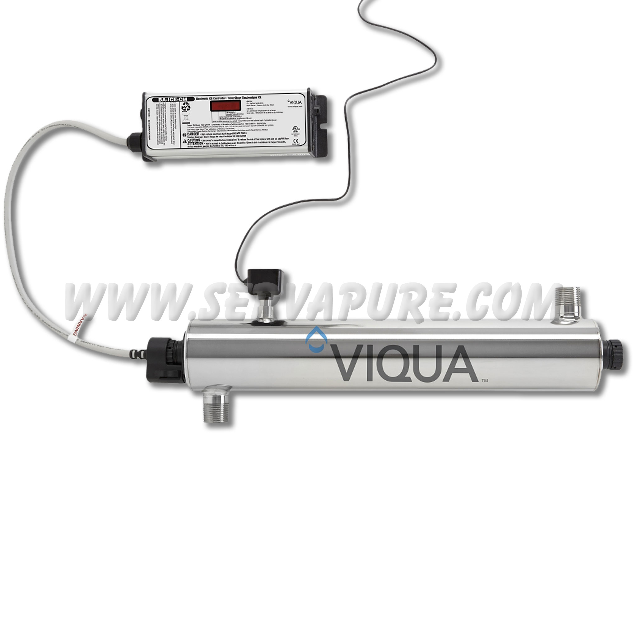 Viqua Vh410m Whole House Uv System 18 Gpm With Sensor