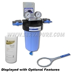Serv-A-Pure 711001, BBFS-1-SED 10'' Big Blue Whole House Sediment Removal Water Filter System