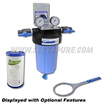 Serv-A-Pure 712001, BBFS-1-TOR 10'' Big Blue Whole House Taste/Odor Water Filter System
