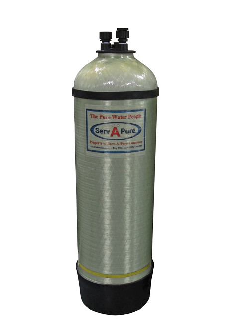 Serv-A-Pure 1447 General Purpose Deionization Tank, 3.75 Cu. Ft.