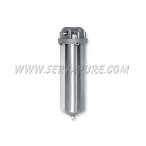 Harmsco FSSS-1B, Single Stainless Steel Cartridge Housing