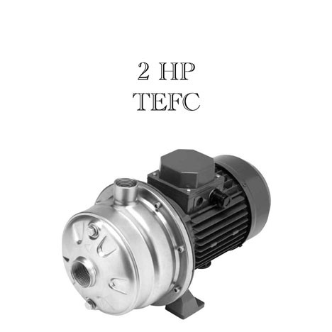 Webtrol 2TC7020-3 High Head, 2 Stage SS Centrifugal Pump