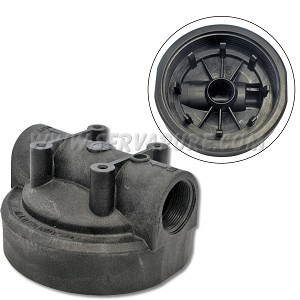 Pentek 154078, 1-1/2'' In/Out, Black Cap No PR for Big Blue Housing