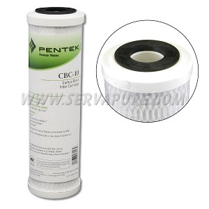 Pentek 155162, CBC-10 Carbon Block Filter, 2.5'' x 10''