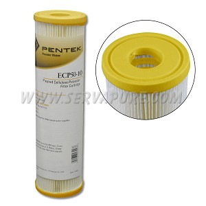 Pentek 255484, ECP50-10 Pleated Polyester Filter