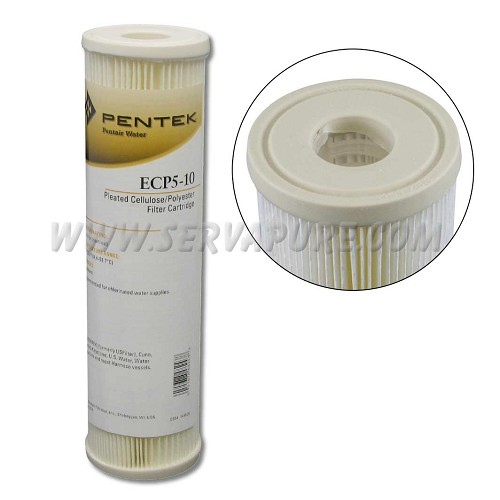 Pentek 255482, ECP5-10 Pleated Polyester Filter