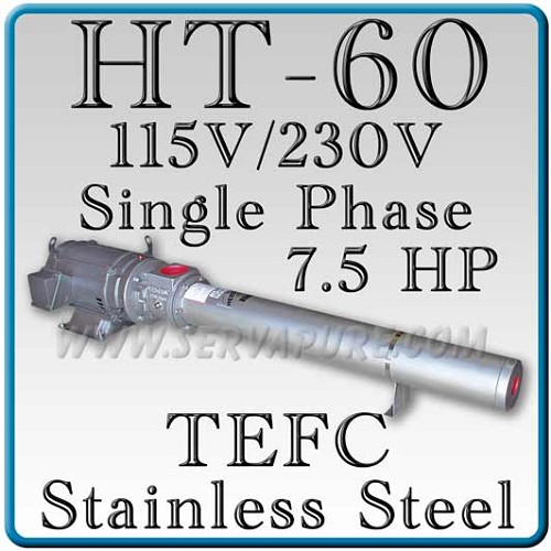 Webtrol H60B8ST Stainless Steel HT Series Booster Pump