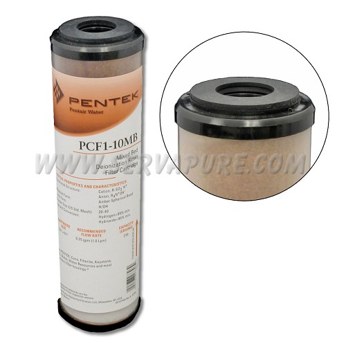 Pentek 155273, PCF1-10MB FDA DI Resin, #10