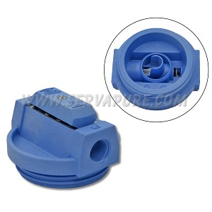 Pentek 154138, 3/4'' In/Out, Blue Valve-In-Head Cap w/ PR