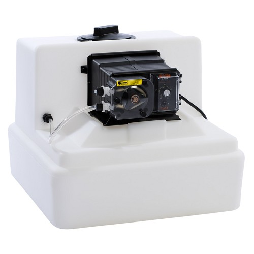 Blue-White A1N10C-7T-T Peristaltic Chemical Feed Pump, 52 5 GPD with Tank  System